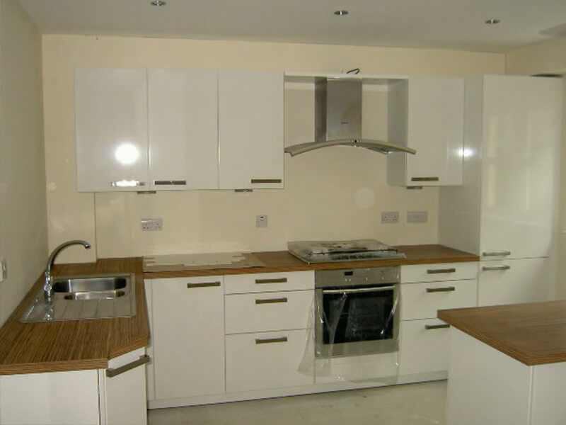 New Townhouses in Central Edinburgh - Kitchen view 1