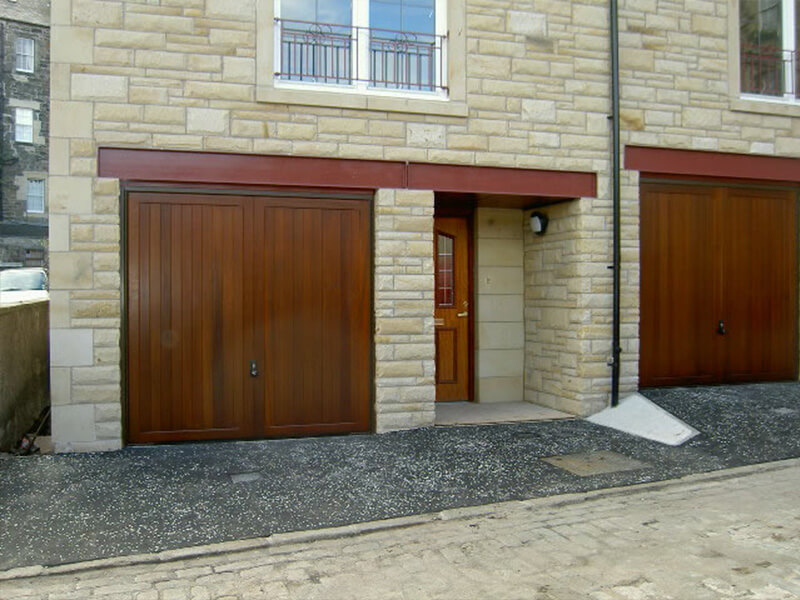 New Townhouses in Central Edinburgh - Garage