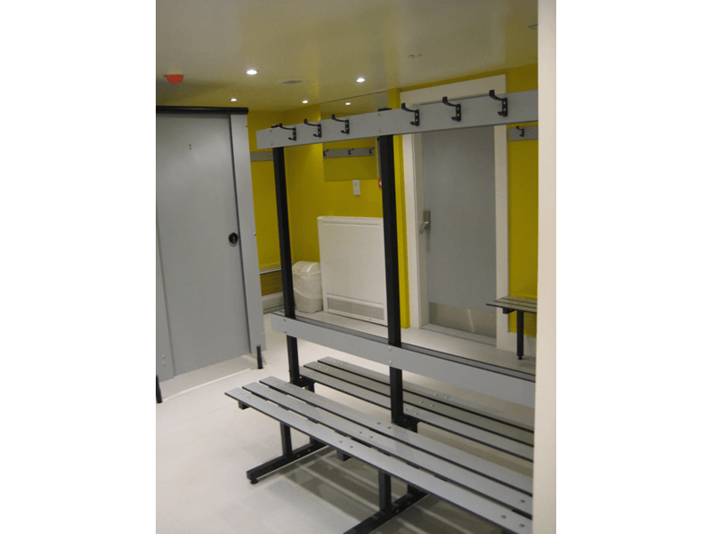 Changing room refurbishment
